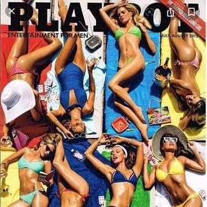 Unopened Playboy magazine July/August 2015